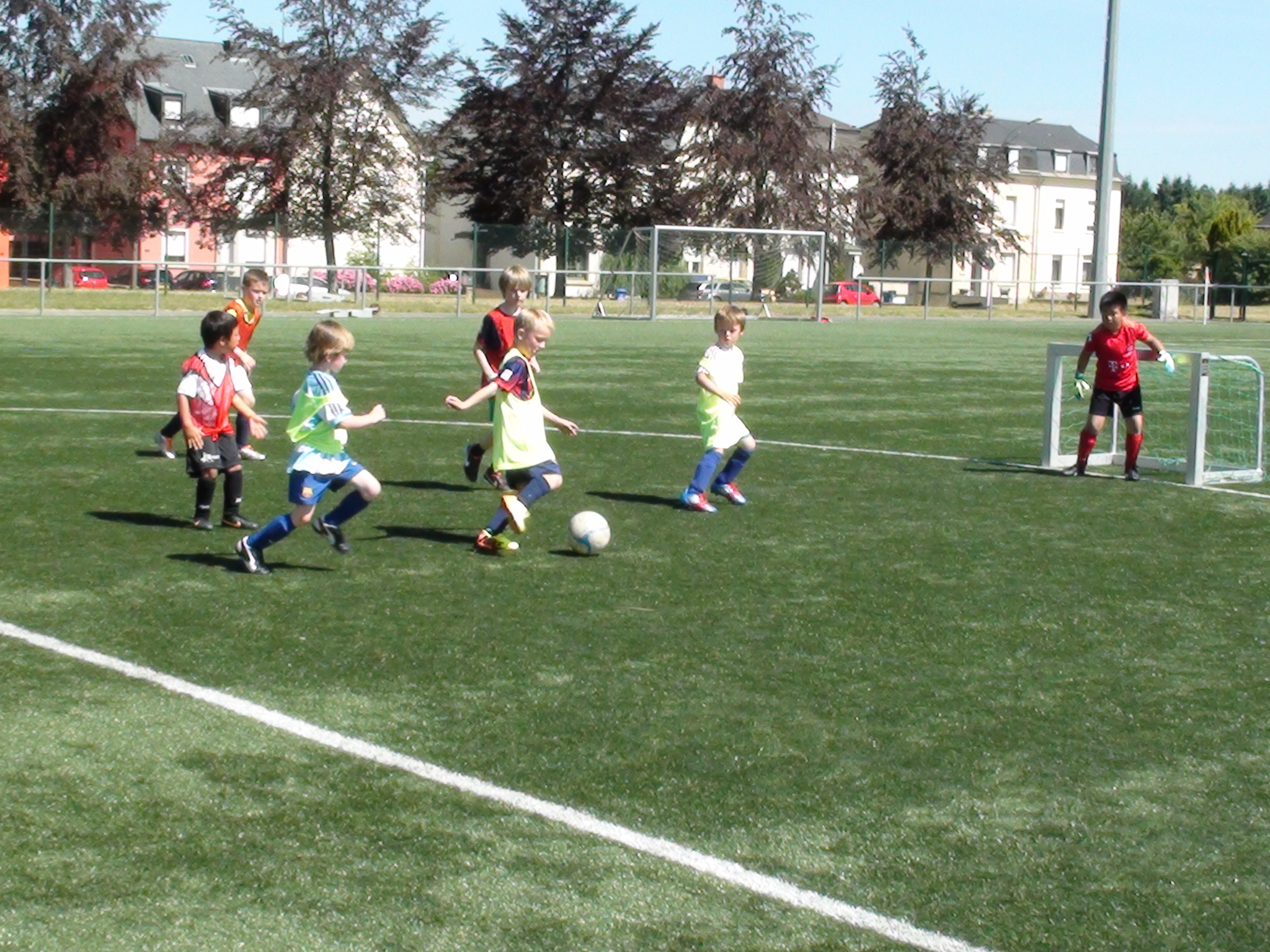 Summer Camp Football Klinik Academy Luxembourg