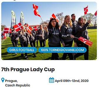 7th Prague Lady Cup Football Tournament