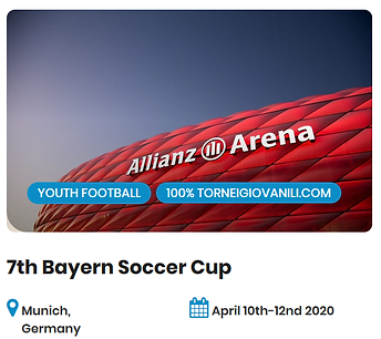 7th Bayern Soccer Cup Football Tournamen