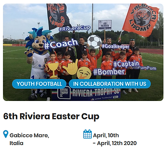 6th Riviera Easter Cup Football Tourname