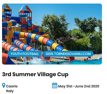 3rd Summer Village Cup Football Tourname
