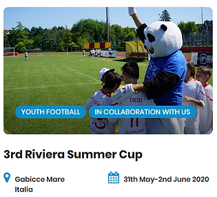 3rd Riviera Summer Cup Football Tourname