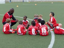 Team/match briefing