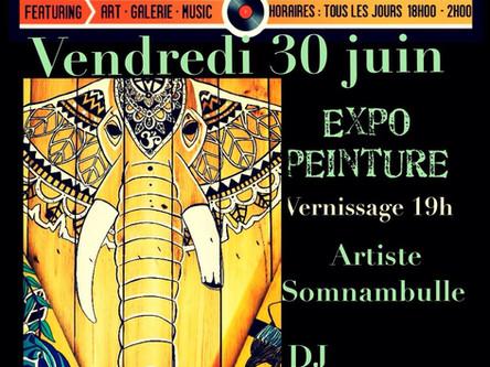 - Wild Soul - Ma première expo en solo au Melt'in Art, Les 2Alpes, France.