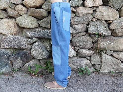 Fit Pants / Double denim