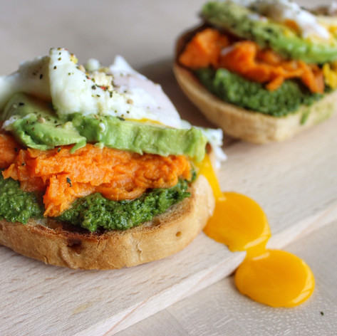 Loaded Breakfast Toast