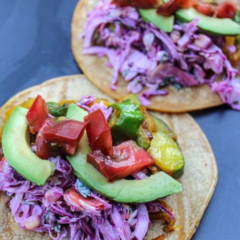 Summer Rainbow Tacos