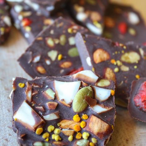Superfood Chocolate Bark