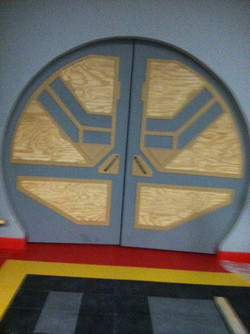 CUSTOM DOORWAY IN PROGRESS