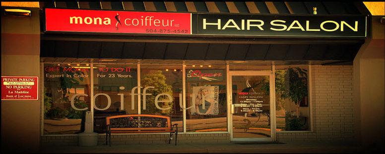 Metairie Hair Salon, Mona Coiffeur Hair Salon Metairie, LA