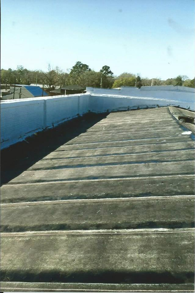 COMMERCIAL FLAT ROOF - RUBBEROID