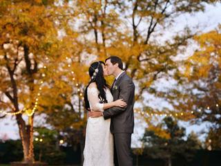 Dove House fall wedding