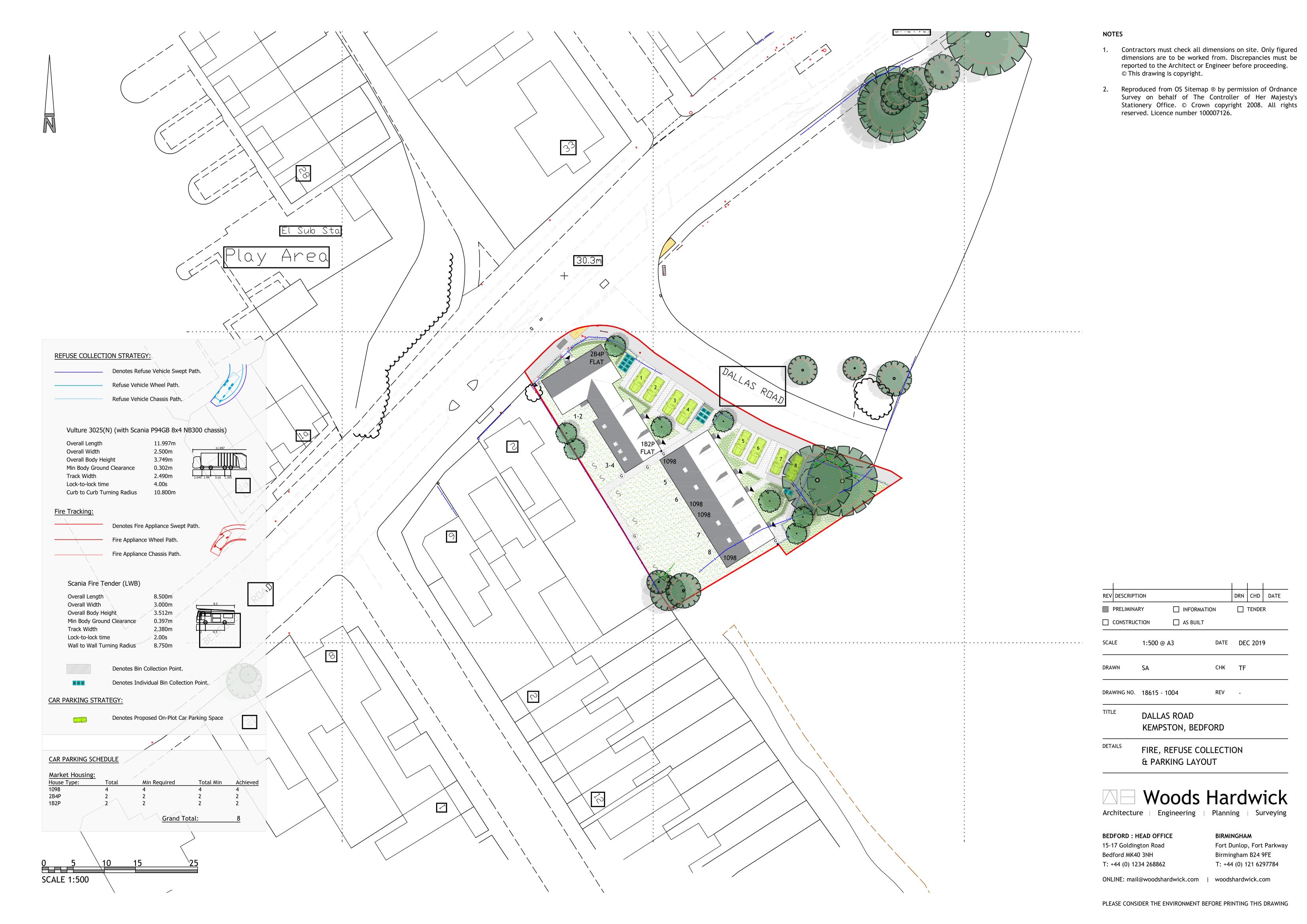 Parking & Tracking Plan - 1004-1