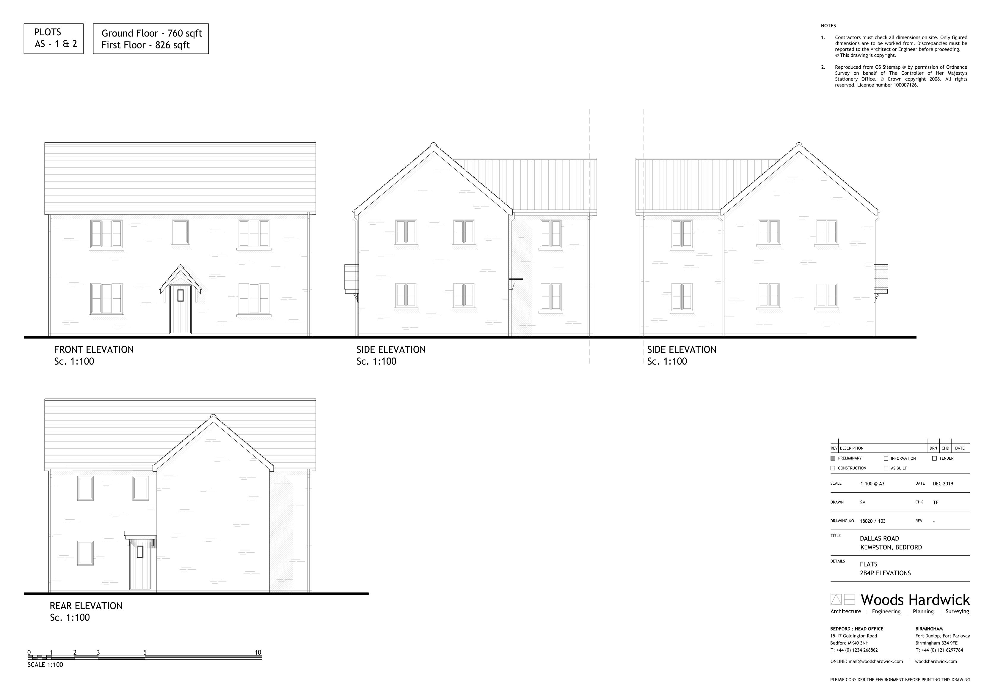 2B4P - AFF FLAT-103E-1