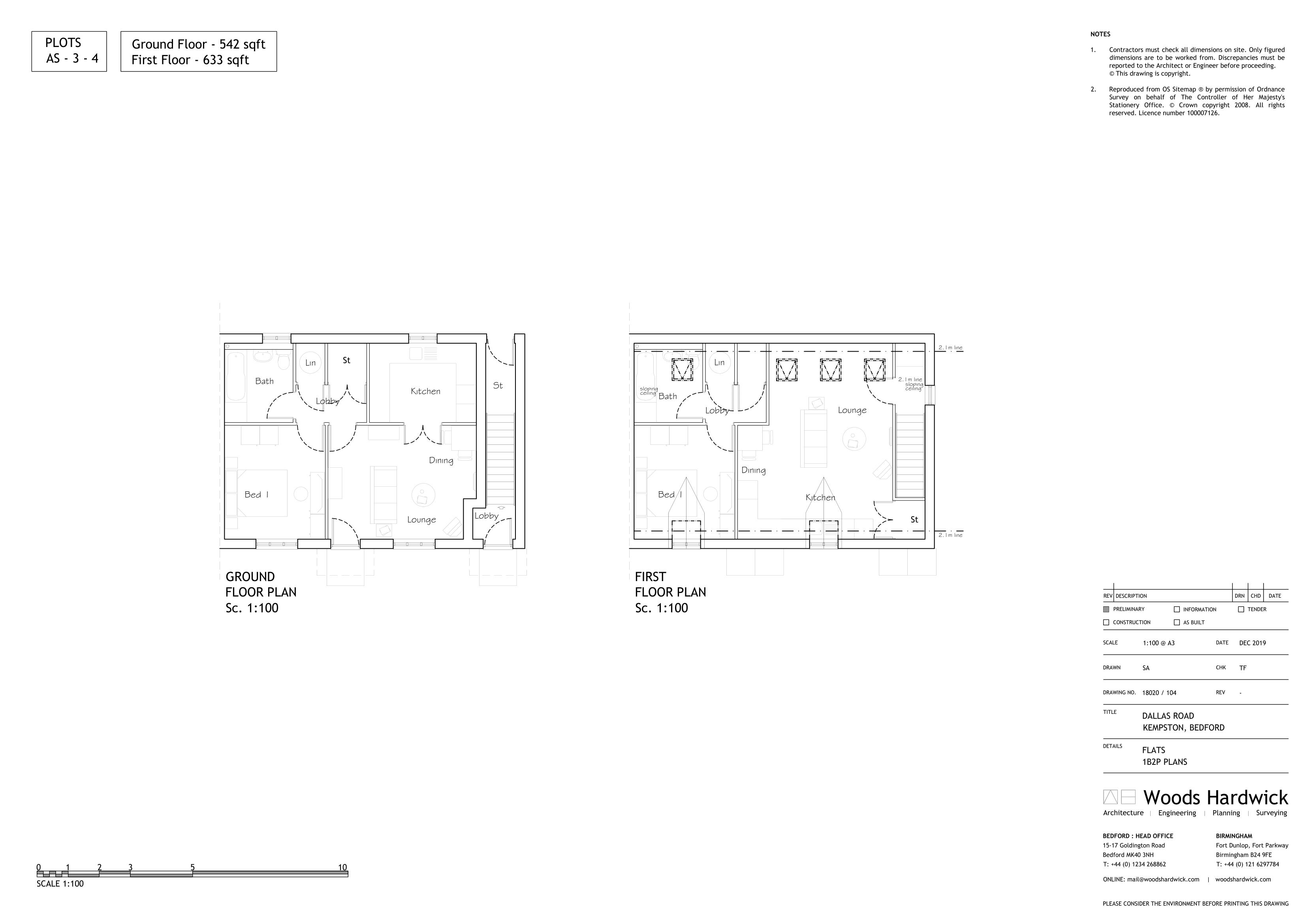 1B2P - AFF FLAT-104P-1