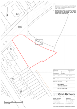 Site Location Plan - 1001-1