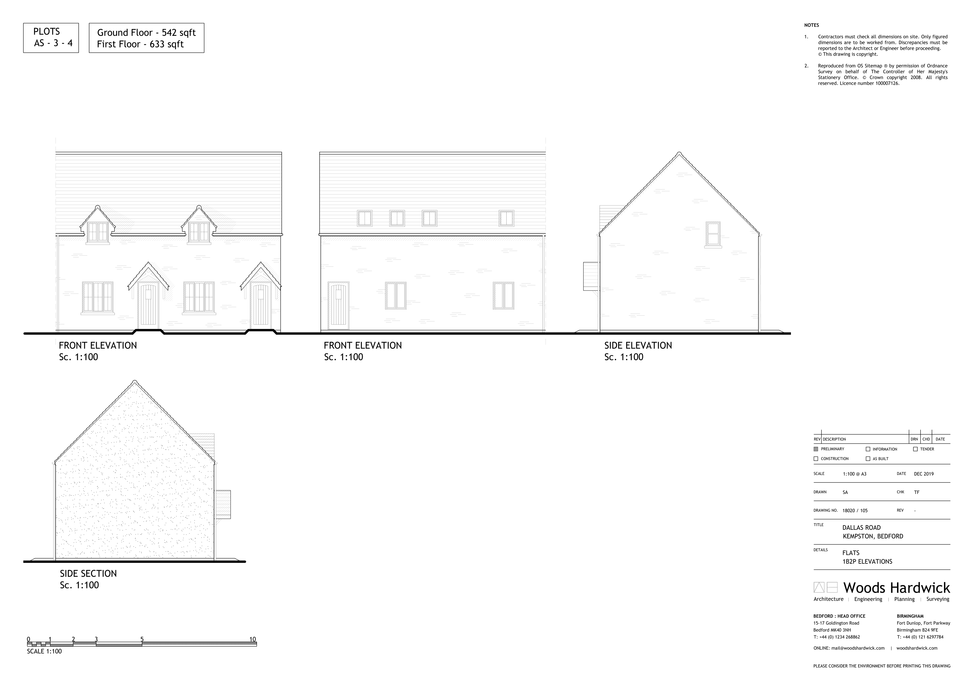 1B2P - AFF FLAT-105E-1
