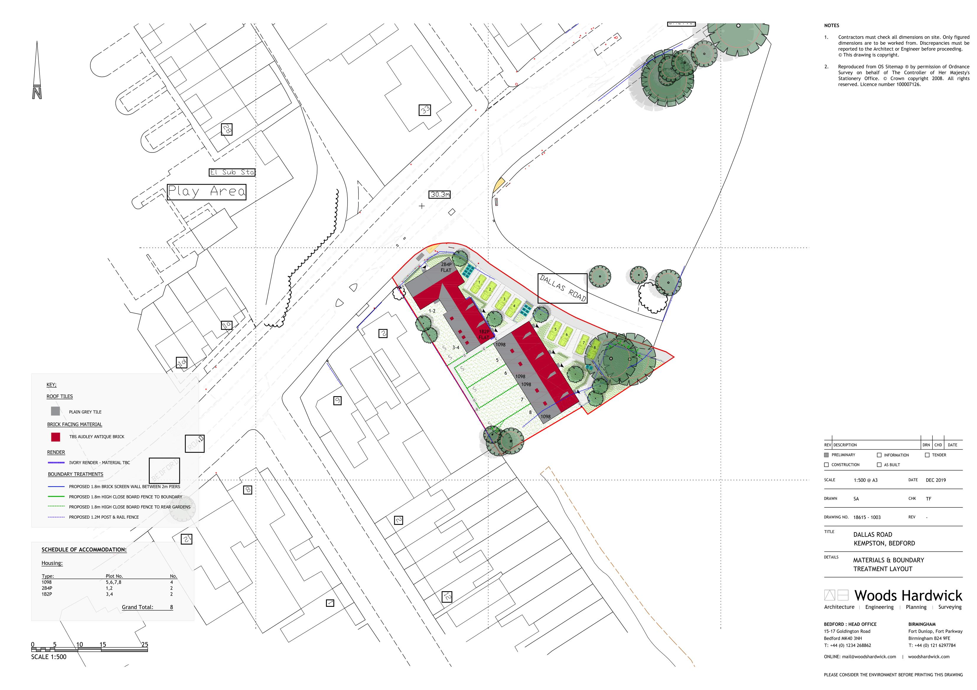 Materials Plan - 1003-1