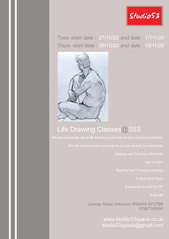 Studio53 -Life-Drawing-Classes-Info-page