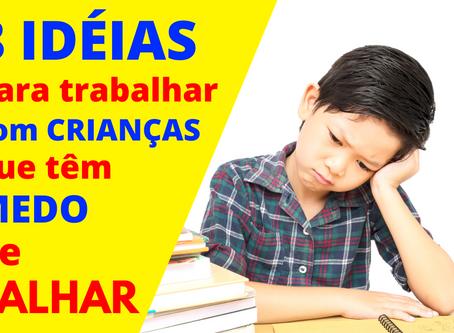 Perfeccionismo: 8 idéias para trabalhar com crianças que têm medo de falhar