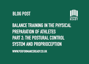 Balance training in the physical preparation of athletes. Part 2.