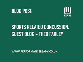 Sports Related Concussion - Guest Blog: Theo Farley