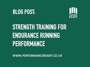 Strength training for endurance running performance