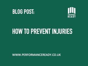 How to prevent injuries