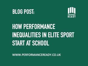 How performance inequalities in elite sport start at school