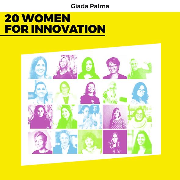 20 Women for innovation – paperback