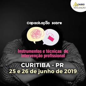 Capacitação sobre Instrumentos e Técnicas de Intervenção Profissional - Curitiba