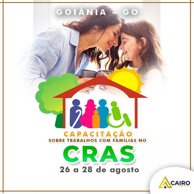 Capacitação sobre Trabalhos com Famílias no CRAS - Goiânia