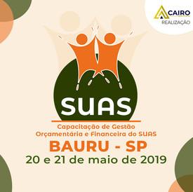Capacitação sobre Gestão Orçamentária e Financeira do SUAS - Bauru