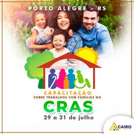 Capacitação sobre Trabalhos com Famílias no CRAS - Porto Alegre