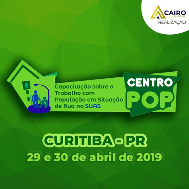 Capacitação sobre o Trabalho com a População em Situação de Rua - Curitiba