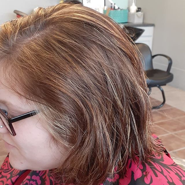 Brightening up the brunette by adding in