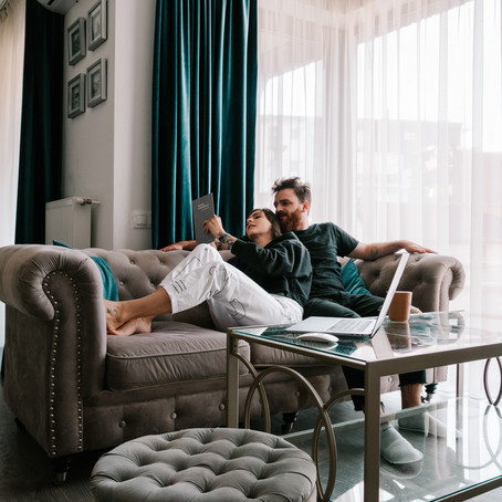 Living with an unhappy marriage while staying home with your partner