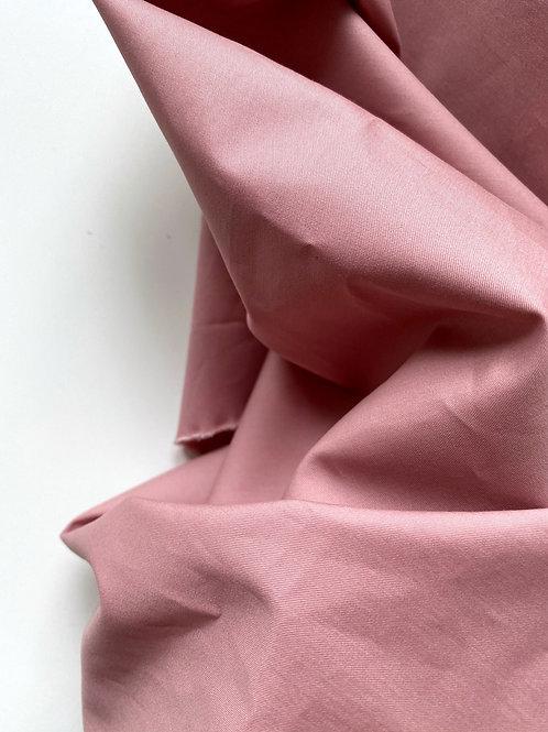 Хлопок клубника со сливками гребенной рубашечный (120)