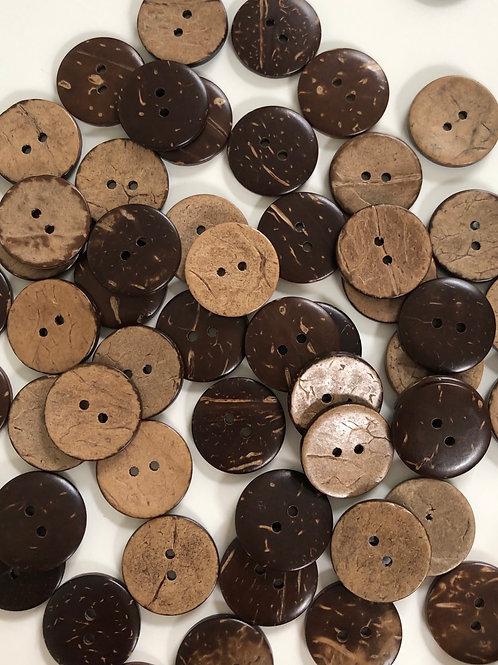 Пуговицы кокосы (20 мм)