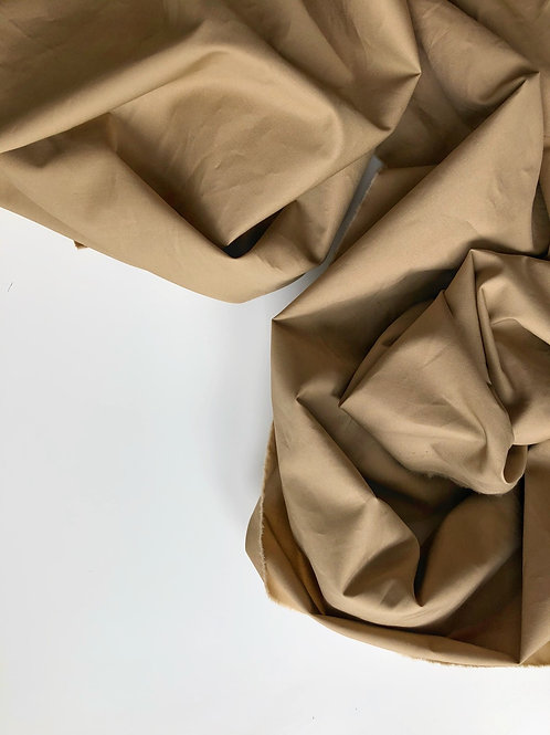 Хлопок кэмел гребенной рубашечный (120)