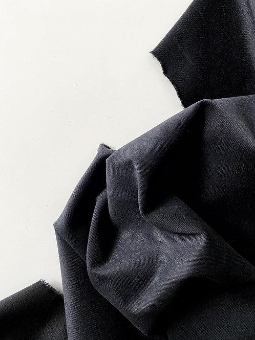 Деним велюровый black (280)