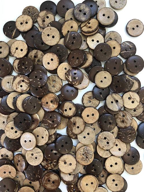 Пуговицы кокосы (15 мм)