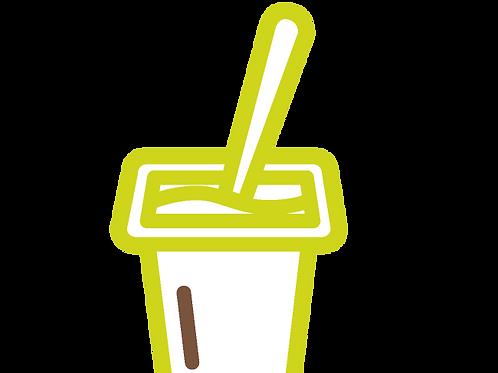 Plain Yogurt (1 piece)
