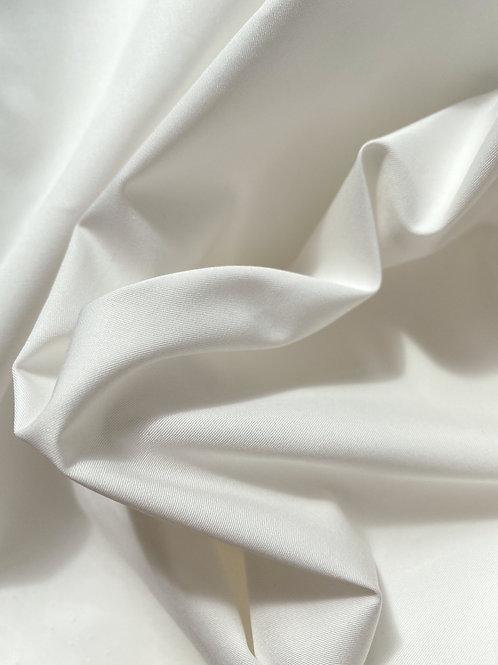 Хлопок белый гребенной рубашечный (120)