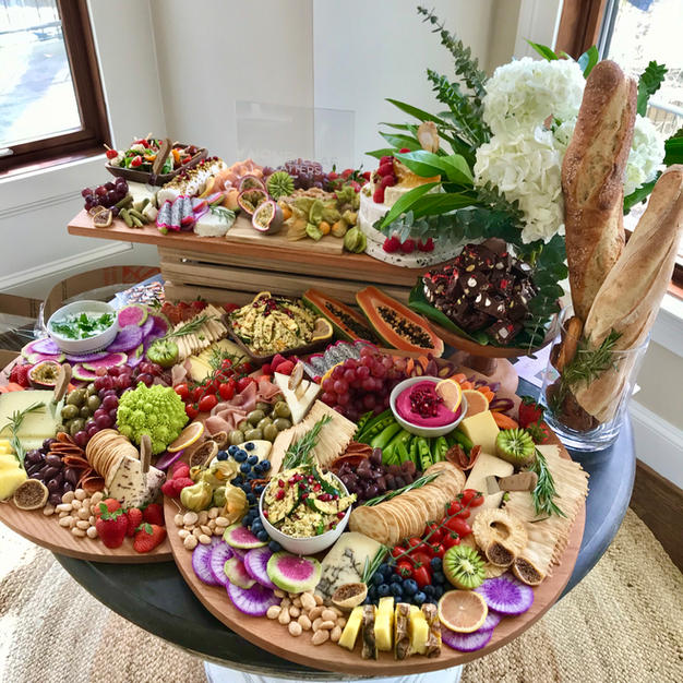 Layered Grazing Table