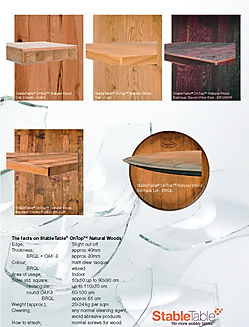 StableTable OnTop Natural Woods - 2019 -