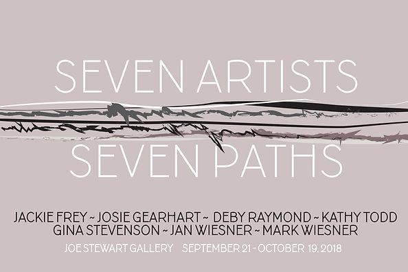 SEVEN ARTISTS  SEVEN PATHS  4X6 FORMAT.j