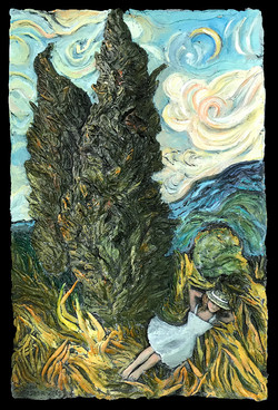 SHE DREAMED OF LOVE AND OF BELONGING IN A VAN GOGH PAINTING
