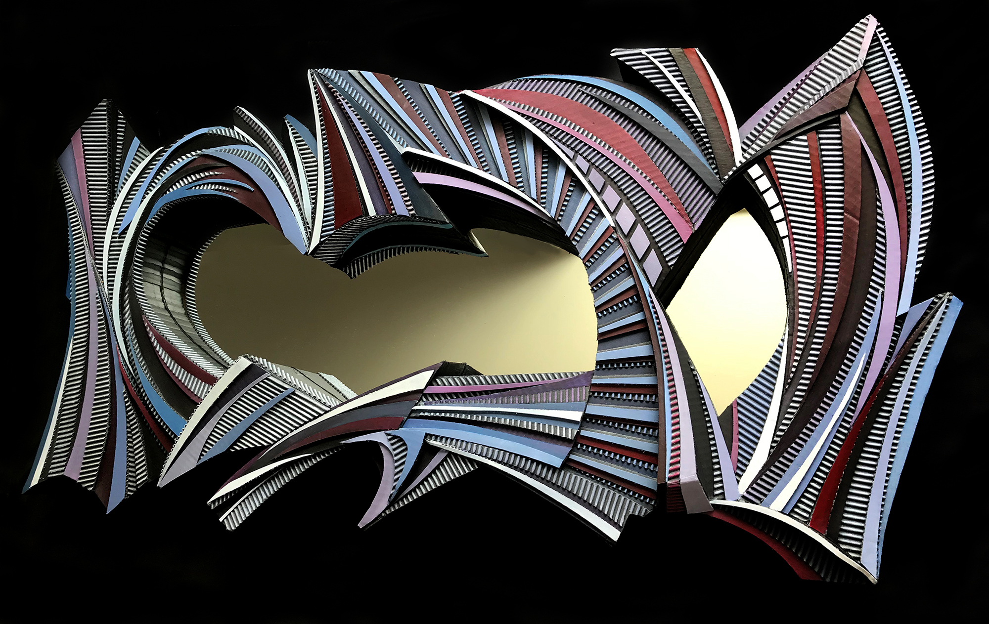 SCULPTURAL REFLECTION (RIGHT VIEW)