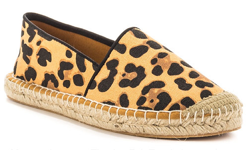 Leopard Espadrille